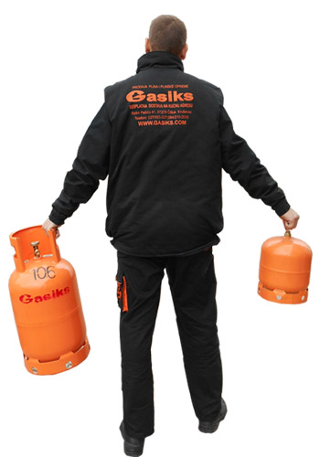 Korišćenje i skladištenje plinskih boca
